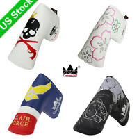 Putter Cover Headcover Megnetic for Blade Golf Putter Club Head Covers Craftsman