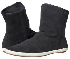 New Women Sanuk Sz 8 Kat Sphinx Luxe Suede Charcoal Shoes Boots New