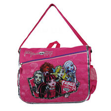 Brand New Monster High Hot Pink School Messenger Bag Backpack Back Pack