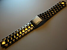 Timex T2M458 T2M453 T2M454 20mm Watch Band T-Series Perpetual Calendar Two Tone