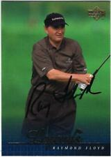New listing RAYMOND FLOYD 2001 UPPERDECK LEGENDS IP  signed card excell condition