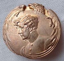BOUTON insigne AIGLON NAPOLÉON II Théâtre Sarah Bernhardt ORIGINAL French button