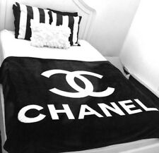 Chanel VIP Blanket Throw 100 % AUTHENTIC DONT SETTLE 4 LESS INCLUDES CC DUST BAG
