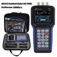 JDS2023 Oscilloscopio Oscilloscope USB 20MHz Generatore di Segnale LCD Digitale