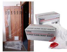 Prodec Advance Super Cling Dust Sheet 200m2 + Free Cutter