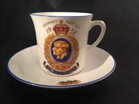 Coronation King George V1 Queen Elizabeth 1937 Collingwoods Cup And Saucer