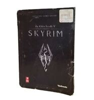 ELDER SCROLLS V: SKYRIM PRIMA OFFICIAL GAME GUIDE BY DAVID HODGSON BETHESDA 655P