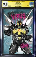 Venom #25 1st cover app of Virus CGC Signed & Remarked Virus Limited to 100.