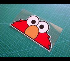 Sesame Street Elmo cookie monster PEEPER JDM Reflective Decal Sticker