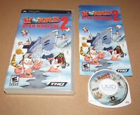 Worms: Open Warfare 2 for Sony PSP Complete Fast Shipping!