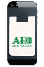 Alpha Epsilon Phi IPhone Android Adhesive Mobile Wallet Pouch