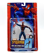 ToyBiz - Spider-Man Classics - Web-Line Spider-Man Action Figure