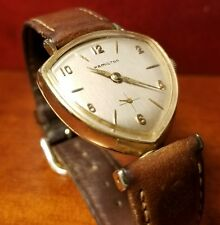 Rare Vintage 1959 Hamilton Thor Watch - Mechanical & Asymmetric 10K Gold-Filled