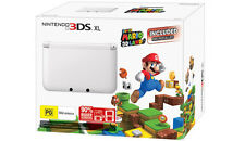 Nintendo 3DS XL Limited Edition (White) + Super Mario 3D Land PAL *NEW!!*