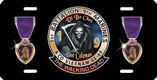 Grim Reaper Auto License Plate 1/9 Marines Vietnam Personalize Gifts Di Bo Chet