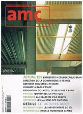 AMC n°144 DEBARGE + POLLOSSON + TERRITOIRES + LES SMITHSON + PARIS POSTER GUIDE