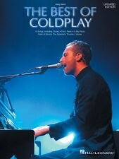 The Best of Coldplay for Easy Piano Sheet Music Updated Edition NEW 000306560