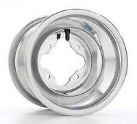 "DWT Alumilite A5 Rolled Lip ATV Rear Wheel 10"" 10x8 3+5 4/115 Yamaha 350 250 700"