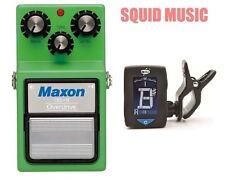 Maxon OD-9 Overdrive Vintage Reissue ( FREE DUNLOP TUNER )  Tube Screamer TS9