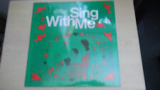 NEW Vintage SING WITH ME Stucky Audio Services The Foundation Series LP 1977