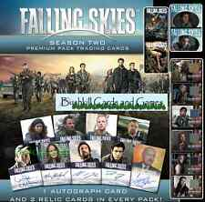 Falling Skies Season 2 Sealed Premium Pack with 2 Relics, 1 Autograph + P1 (Two)