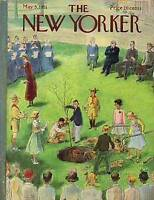1951 New Yorker May 5 - School Tree-planting Ceremony
