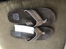 Reef Men's Padang Brown Thong Sandals Size 8