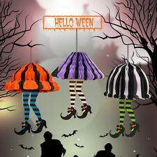 Halloween Hanging Witch Legs Decoration Party Attribute Witch Boot Socks Decor