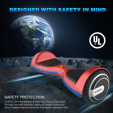 """HOT 6.5"""" Electric Hoverboard smart self balancing Bluetooth LED Lights Scooter"""