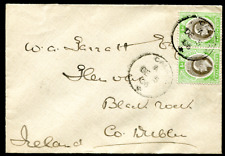SOUTHERN NIGERIA: (19713) Ireland/excised cancel/cover