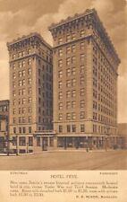 Seattle Washington~Hote Frye~Room W/ Bath $1.50~RE Nixon Manager~1920s Albertype