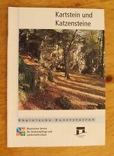 Rheinische Kunststätten Heft 435 1998 Kartstein und Katzensteine