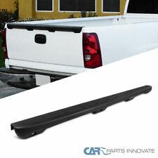 For 99 07 Chevy Silverado Gmc Sierra Fleetside Black Spoiler Tailgate Protector Fits Chevrolet