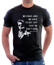 Fight Club Tyler Durden inpired project mayhem black printed t-shirt FN9812
