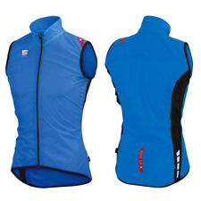 Gilet Sportful Hot Pack 5 Vest Blu Elettrico/nero M