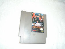 Nes Nintendo Mike Tyson Punch-out game original tested