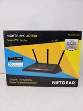 USED NETGEAR R6700 Nighthawk Smart Wi-Fi Router - AC1750 Wireless Speed in Black