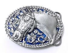 HORSE BROCADE BELT BUCKLE 14052 new western southwest belt buckles
