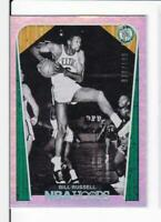 2018-19 Bill Russell #/199 Panini Hoops Celtics Refractor
