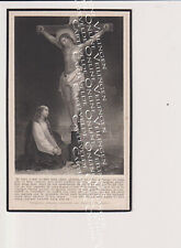 Oud doodsprentje DP L.T.C. Lauwers De Preter Antwerpen Berchem 1908