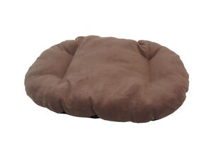 NEW!!! XL / EXTRA LARGE BROWN FLEECE DOG /  CAT BED CUSHION FOR BOTTOM OF BASKET