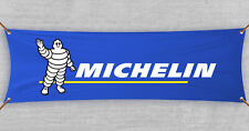 Michelin Flag Banner Tires Tyres Car Parts Shop Garage Man Cave (18x59 in)