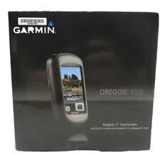 Garmin Oregon 550t 3-Inch Handheld GPS Navigator w/ 3.2MP Digital Camera in Box