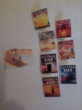 Stephen King's The Gunslinger series dollhouse miniature books