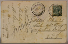 POSTA MILITARE 21^ DIVISIONE 10.6.1917 CARTOLINA TIMBRO DI REPARTO #XP269F