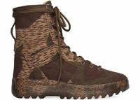 Yeezy Washed Canvas Military Boot Season 6 Splinter Camo Size 13.