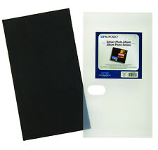 Itoya OLX-240 Deluxe Premium Black Fabric Photo Album (Same Shipping Any Qty)
