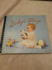 Vintage Baby's Things, Indestructo Book #926, Samual Gabriel & Co, 1945