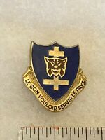 Authentic US Army 323rd Infantry Regiment Unit DI DUI Crest Insignia G23