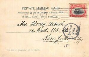 295 2c Pan American May 1, 1901 Columbus,  OH. on Card (rare!) [831625]